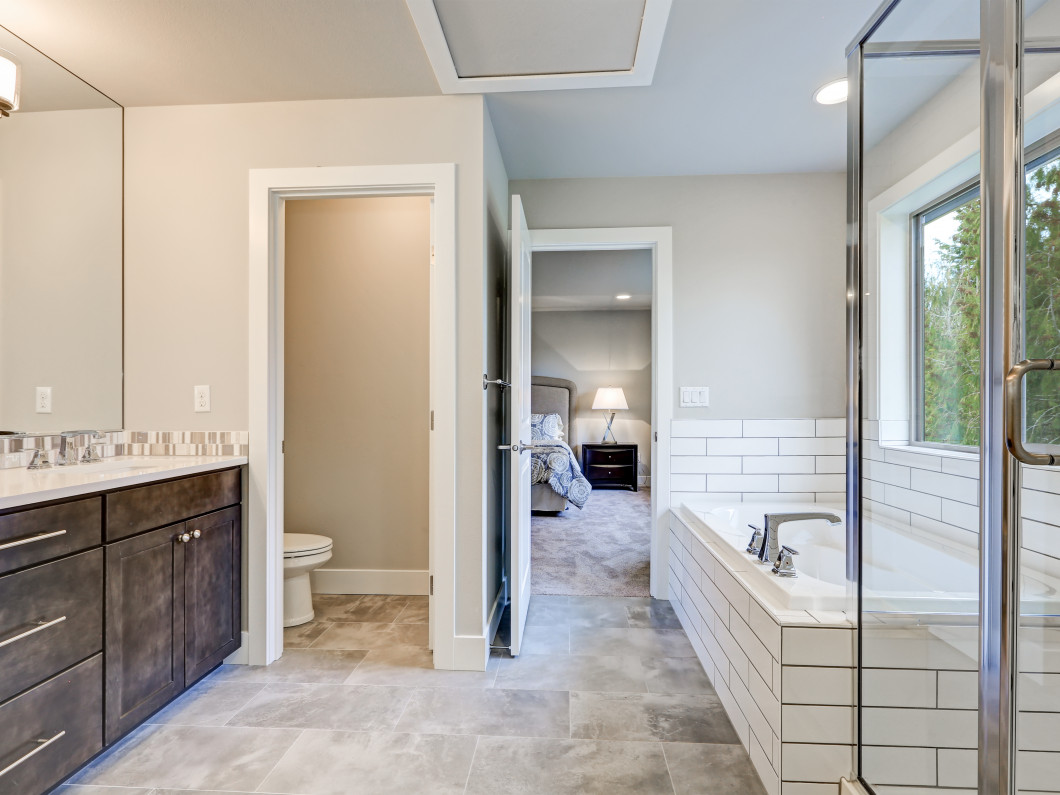 Add custom features to your bathroom